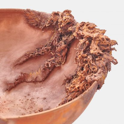 Copper and glass objects imagine future where water is scarce