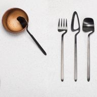 Nendo creates kinked cutlery range for Valerie Objects