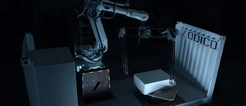 Odico's Factory on the Fly offers pop-up robotic manufacturing unit for construction sites