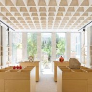 AAU Anastas adds stone vaulted gift shop to Crusaders monastery in Jerusalem
