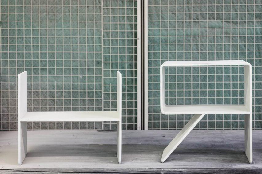 Alphabet chairs by Kellenberger-White for London Design Festival 2018