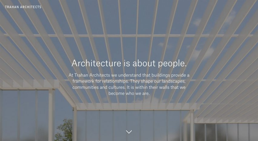 Archiboo Web Awards Trahan Architects