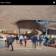Foster + Partners wins award for best architect's website
