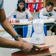AV1 is a robot that helps ill children keep up with schoolwork