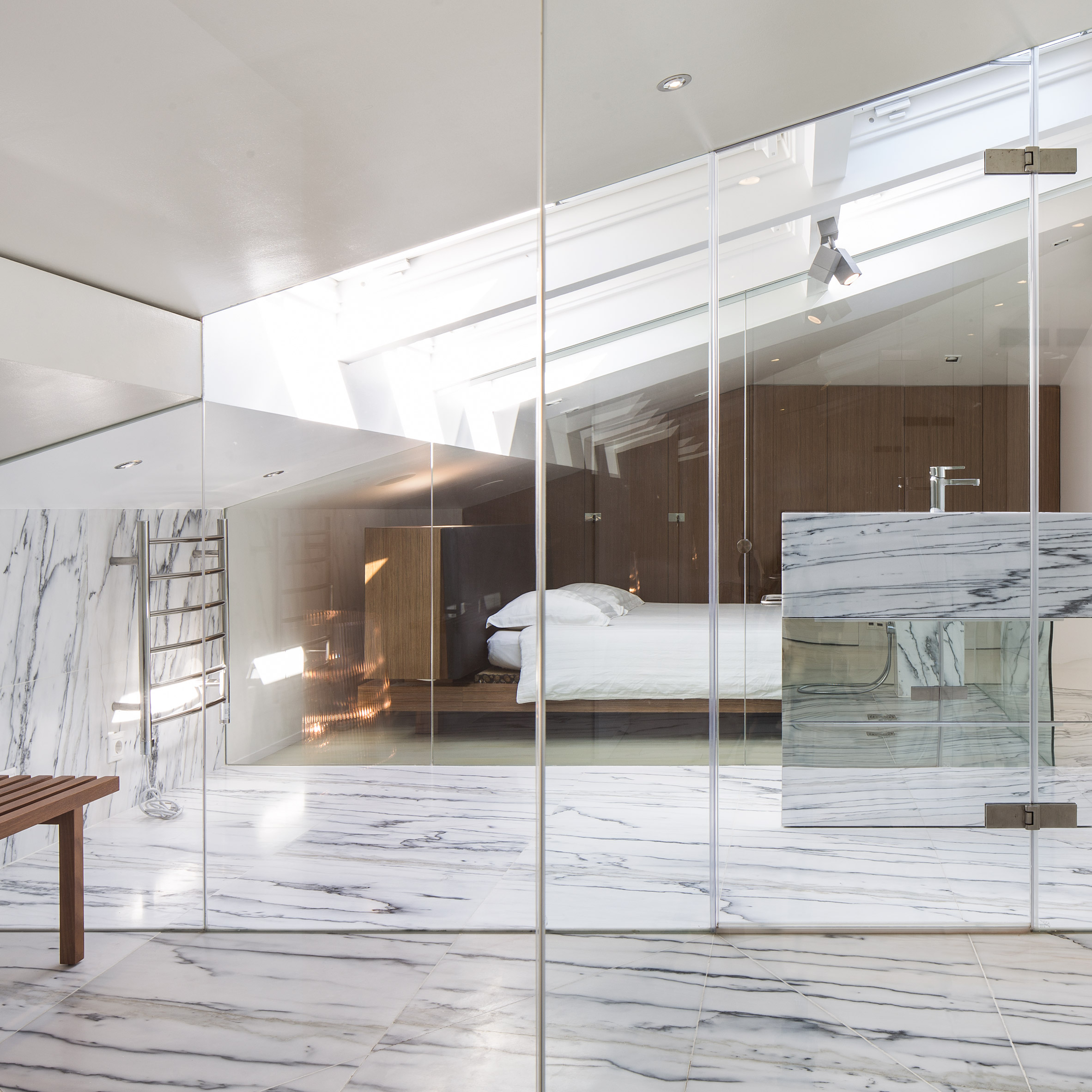 Dezeen roundups: Marble home interiors