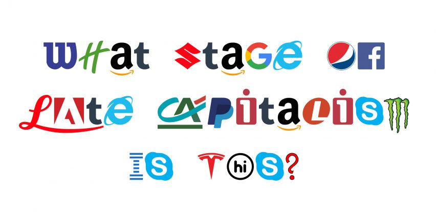 Hello Velocity spoofs capitalism with typeface made from brand logos