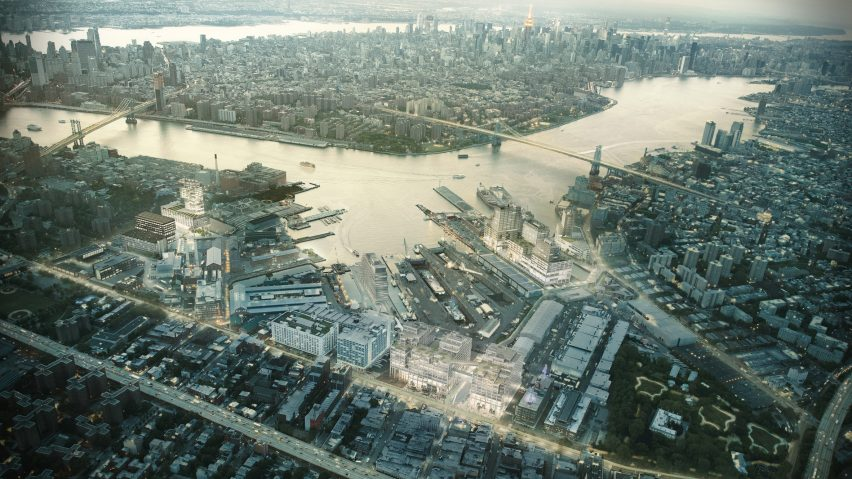 Brooklyn Navy Yard masterplan by WXY Architecture and Urban Design