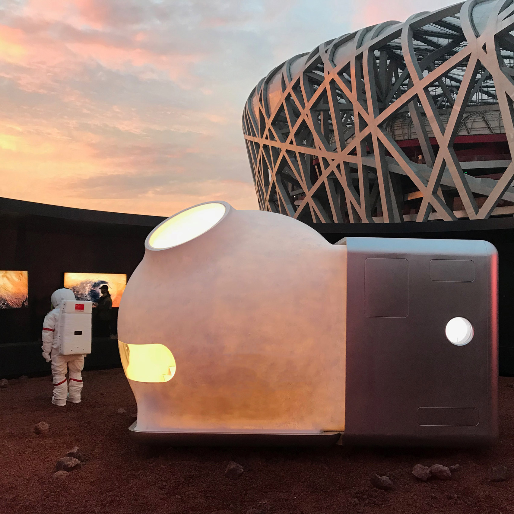 D Printing Exhibition China : Architects imagine chinese home of the future for china house