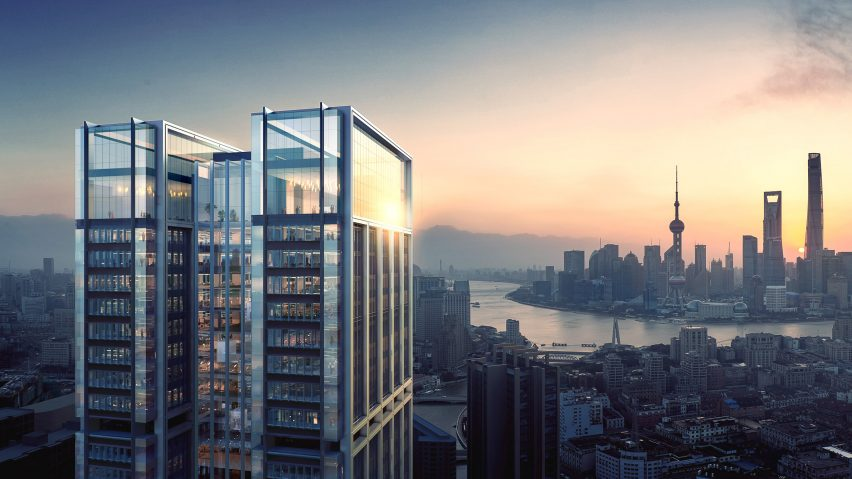 China Resources Land tower by Foster + Partners