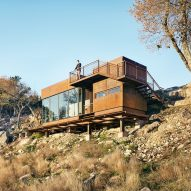 Clear Rock Lookout by Lemmo provides vantage point from Texas hillside