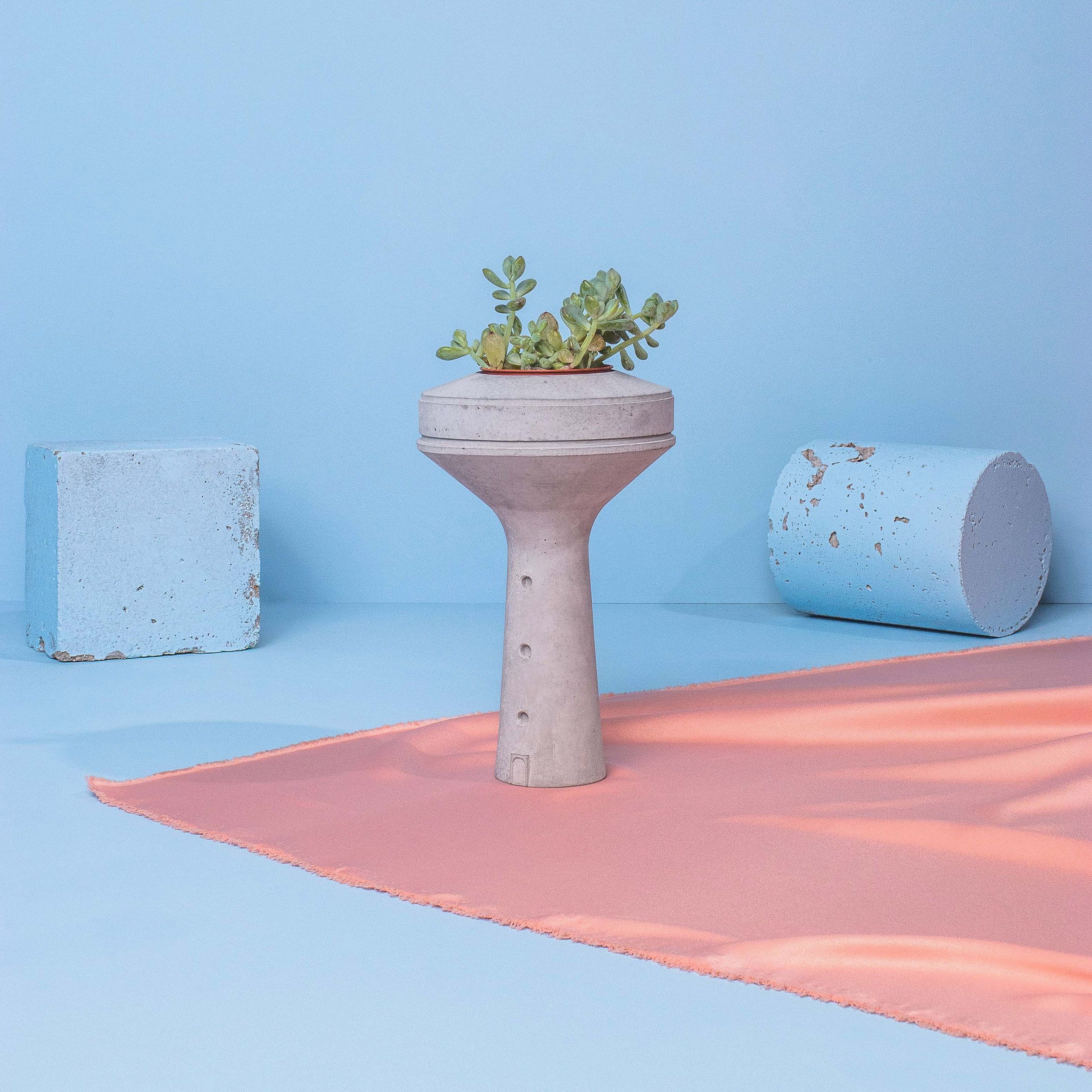 Competition: win a Siment vase modelled on India's brutalist
