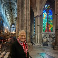 David Hockney creates iPad-designed stained-glass window for Westminster Abbey