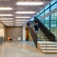 Des Moines Municipal Services Center by Neumann Monson Architects