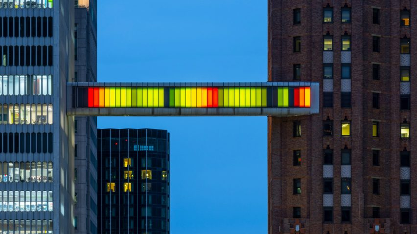 Detroit Skybridge by Phillip K Smith III