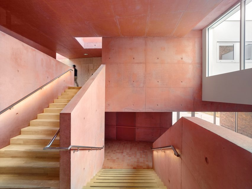 Elderly housing in Huningue, France by Dominique Coulon & Associés