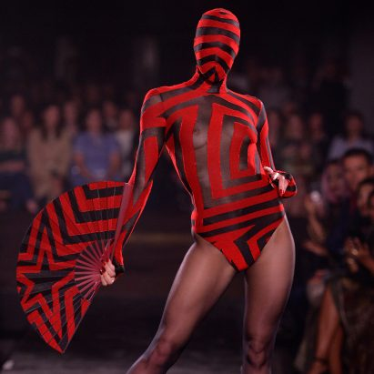 "Gareth Pugh's Spring Summer 2019 celebrates ""outsider society"""
