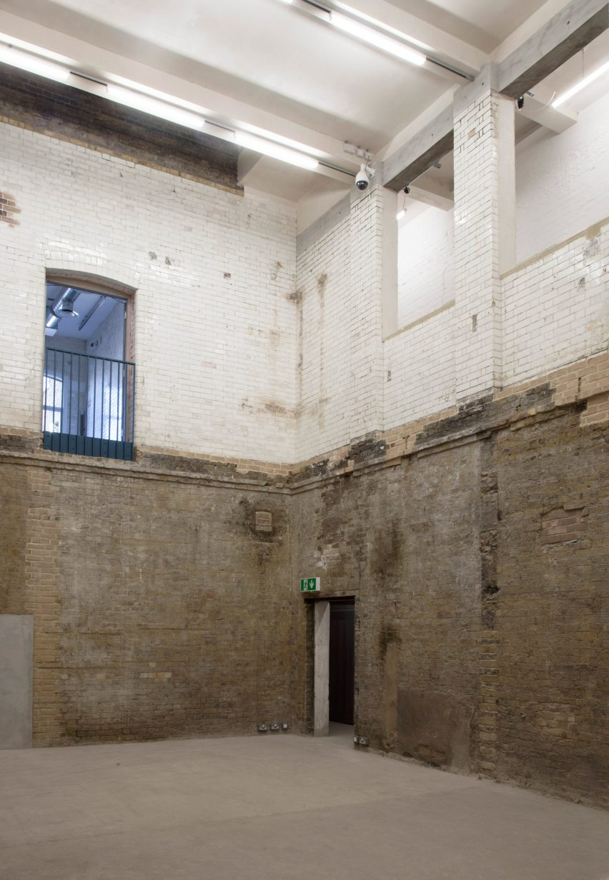 Goldsmiths studios and gallery at The Baths by Assemble