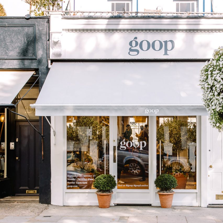 Goop London pop-up by Fran Hickman