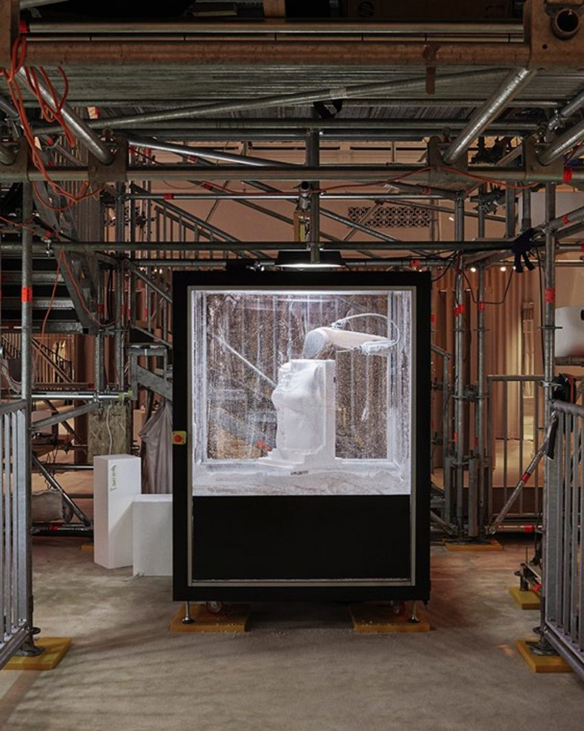 e37afb7857 ... Burberry's new chief creative officer Riccardo Tisci was fairly open.  He simply asked that the sculpture, which will remain at the Regent Street  store ...