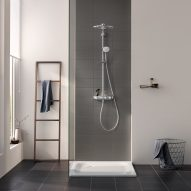"Grohe's Euphoria SmartControl system aims to make showering ""intuitive"""