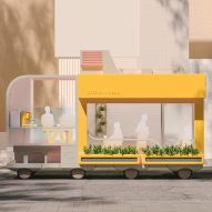 Space10 envisions future of self-driving cars as farms, hotels and clinics on wheels