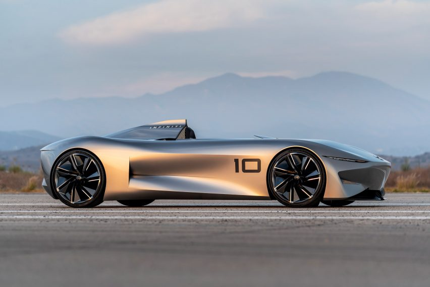 Infiniti's Prototype 10 is a modern twist on the classic speedster