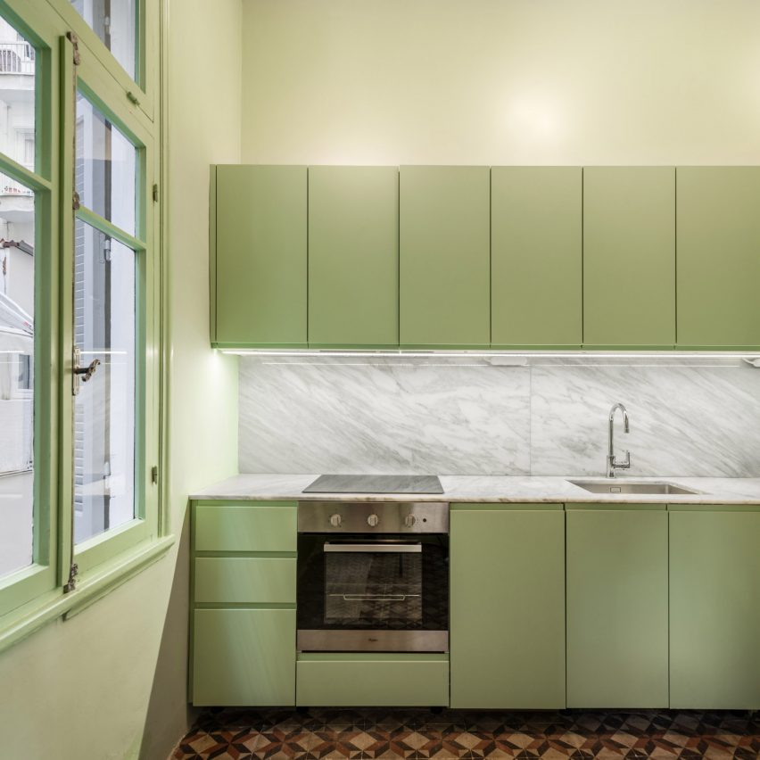 Seven Examples Of How You Can Use Colour Blocking In The Kitchen