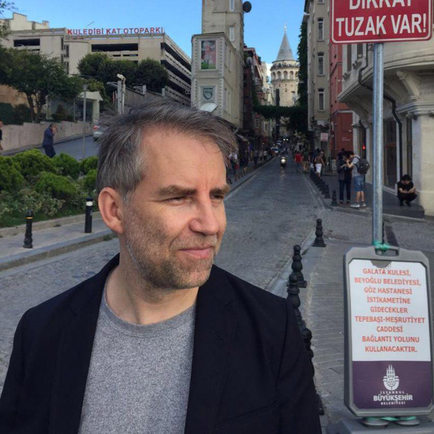Jan Boelen at the Istanbul Design Biennial