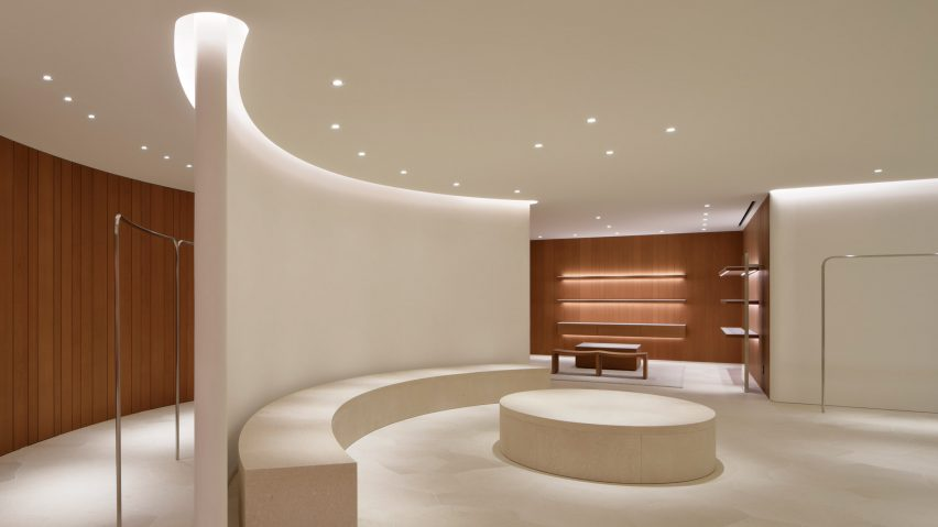 Captivating John Pawson Uses Limestone And Cherry Wood For Minimal Jil Sander Shop In  Tokyo