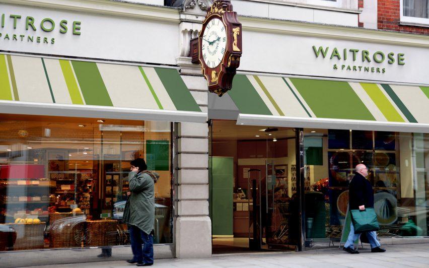 Pentagram rebrands John Lewis and Waitrose