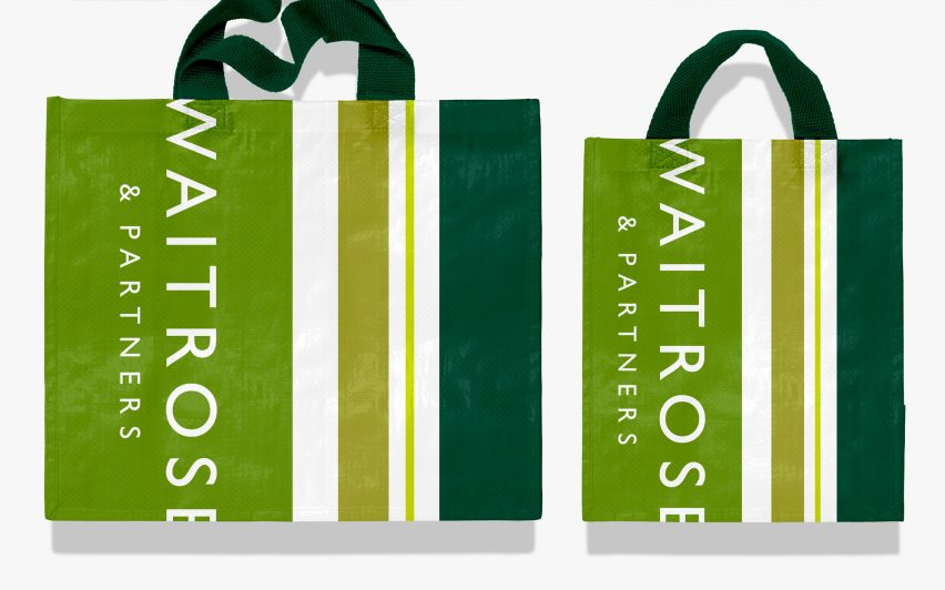 "Pentagram's John Lewis and Waitrose rebrand is a ""heartfelt tribute"" to employees"