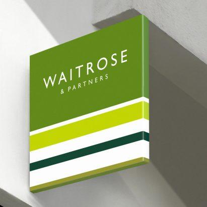 Pentagram cambia el nombre de John Lewis y Waitrose para enfatizar la asociación