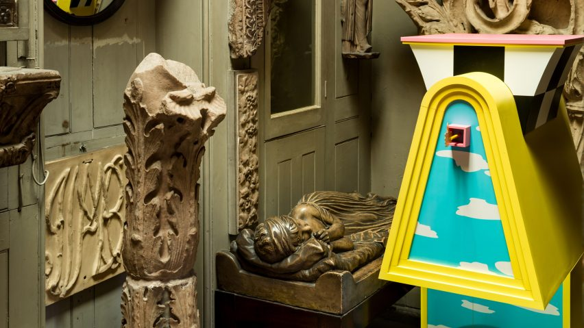 Studio Mutt installs four architectural characters in Sir John Soane's Museum