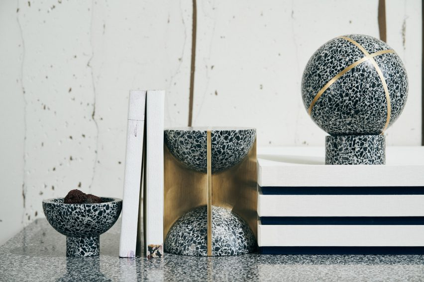 Magnificent Joyce Wang Explores Diverse Potential Of Terrazzo With Flint Gmtry Best Dining Table And Chair Ideas Images Gmtryco