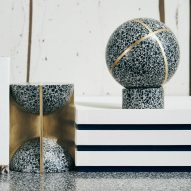Joyce Wang explores diverse potential of terrazzo with Flint objects