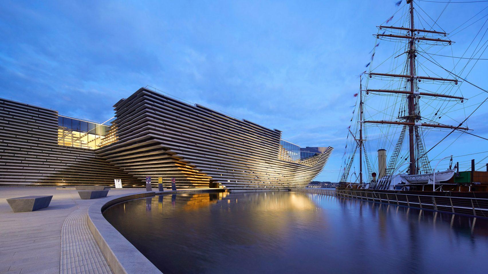 Музей дизайна V & A Dundee Шотландия