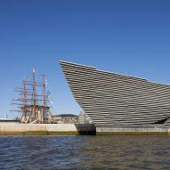 Kengo Kuma unveils cliff-like V&A Dundee museum