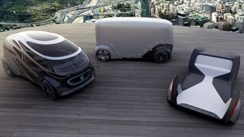 b4da52fab3 Mercedes-Benz unveils modular concept vehicle that transforms from car to  van