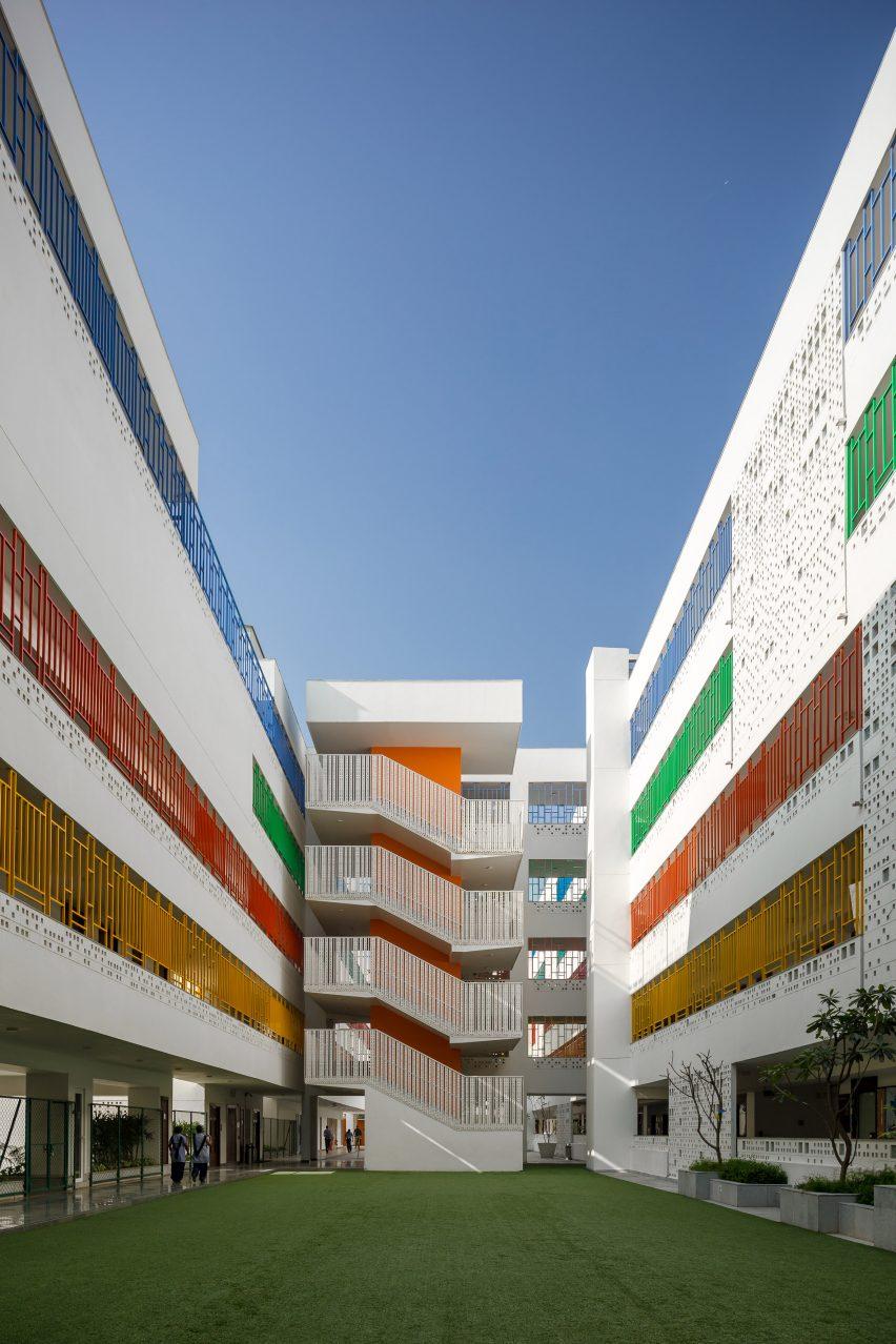 The British School in New Delhi by Morphogenesis