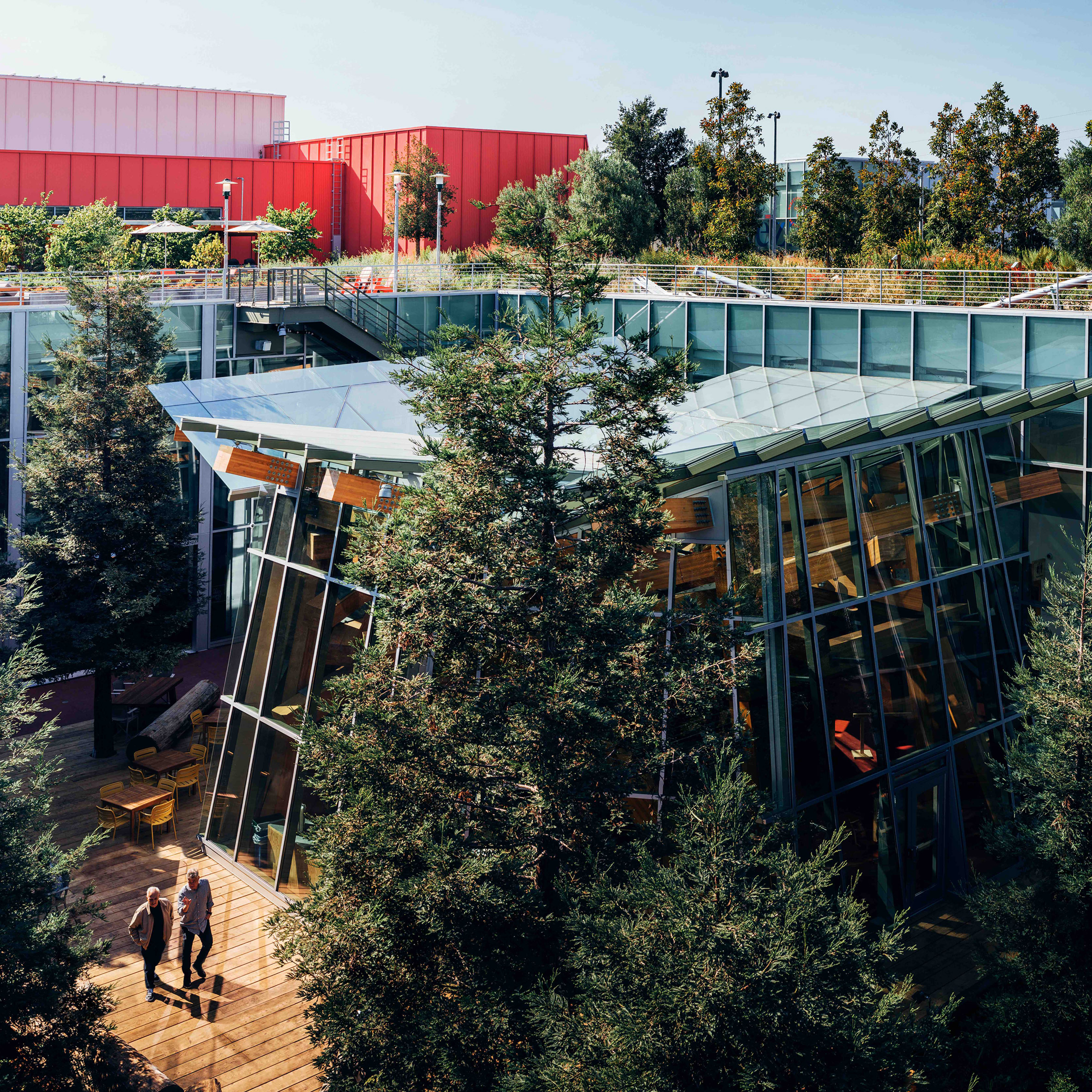 Facebook Reveals Expanded California Campus Designed By Inspiration Frank Gehry Will Design Offices For Facebook In New York