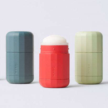 Myro's refillable deodorant system by Visibility