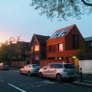 Pace Jefford Moore founder builds himself bright orange Passivhaus in south London