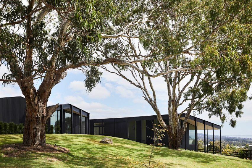 Carr's Red Hill Farm House is inspired by modernism and agricultural architecture