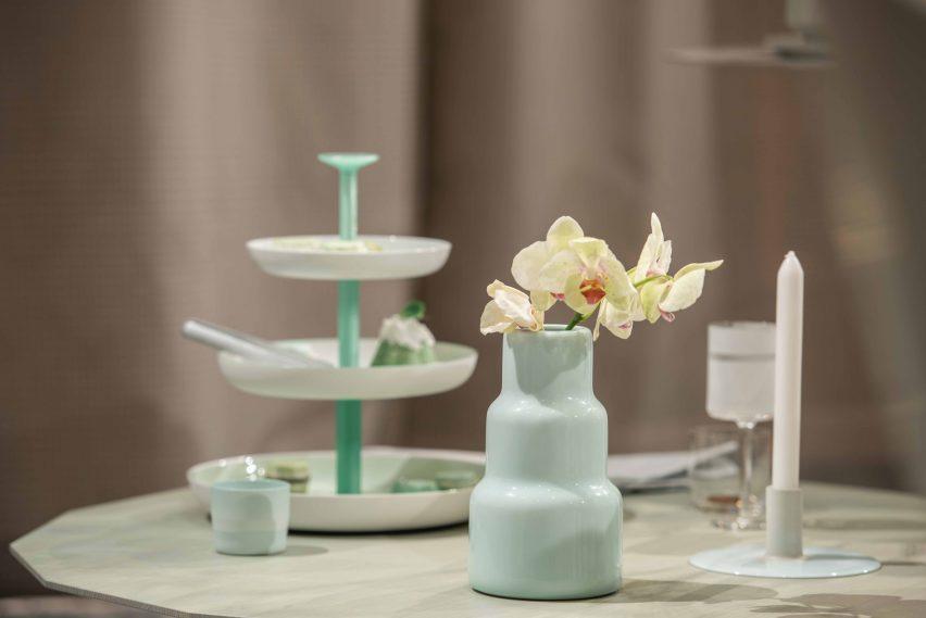 Scholten & Baijings installs contemporary tea party inside London's historic Fortnum & Mason store