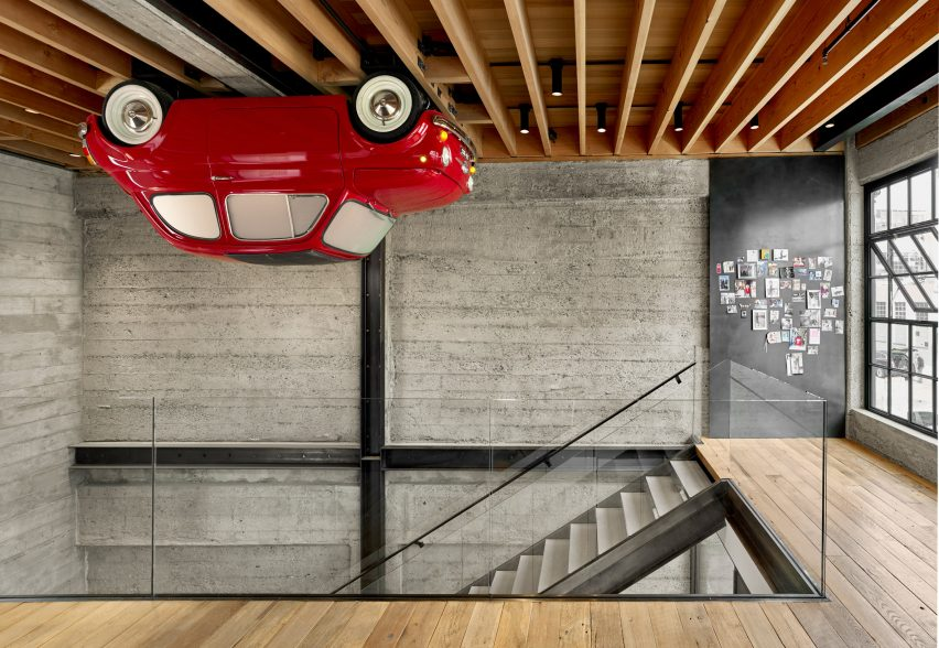 SOMA Residence by Dumican Mosey Architects