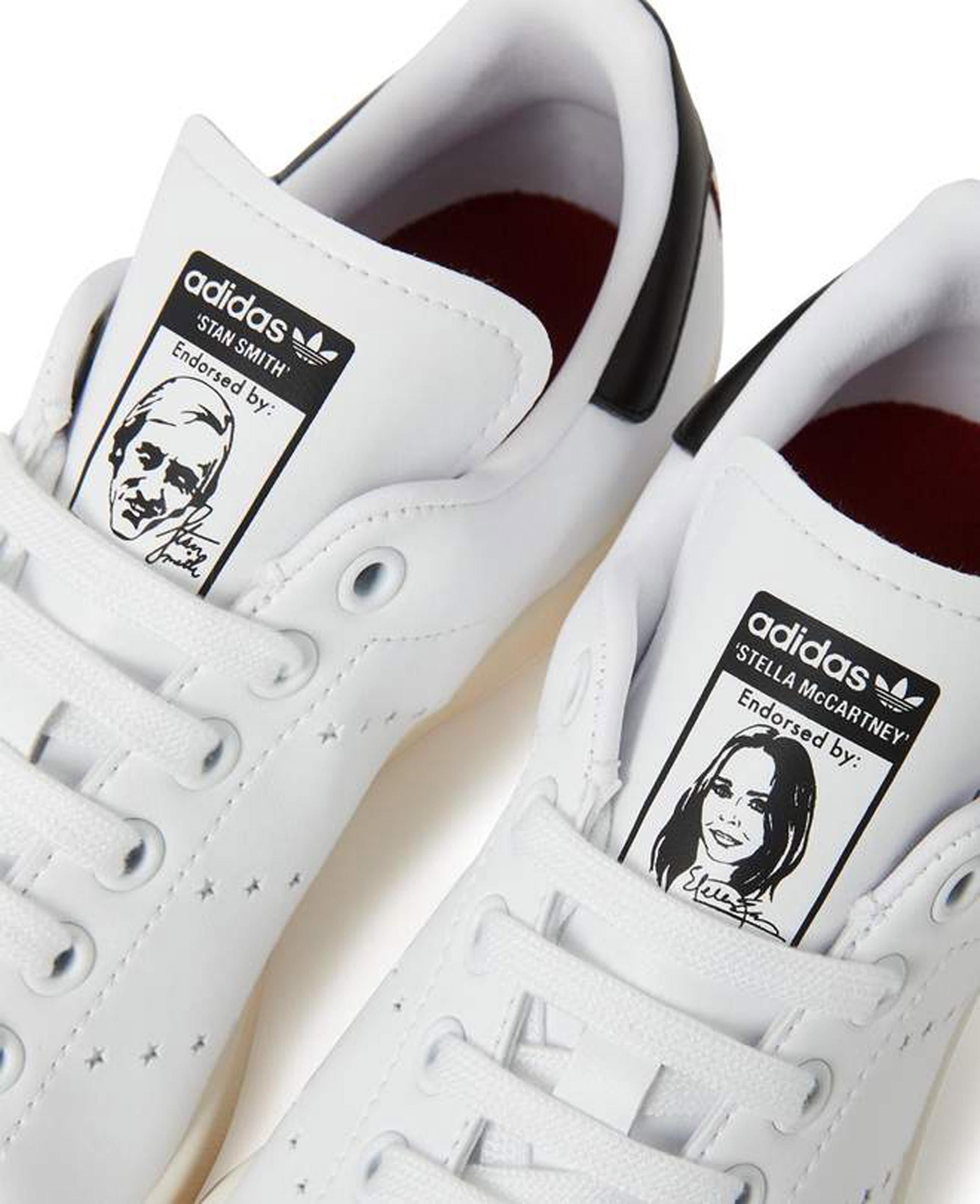 747f61e3dae4 Stella McCartney and Adidas launch vegan Stan Smiths