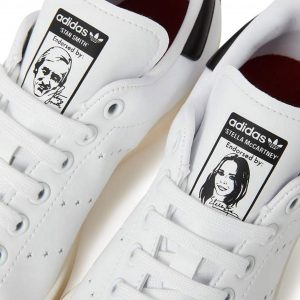 0a5809cf30b Stella McCartney and Adidas launch vegan Stan Smiths