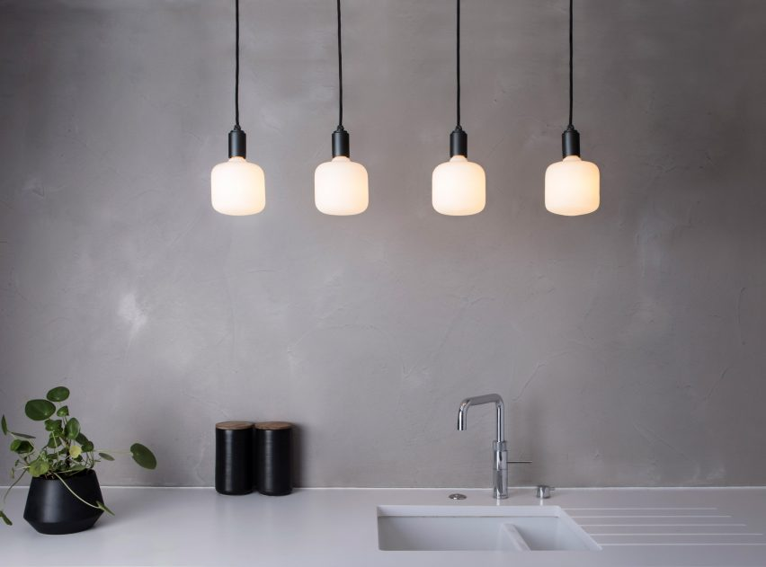 Porcelain Collection lighting by Tala