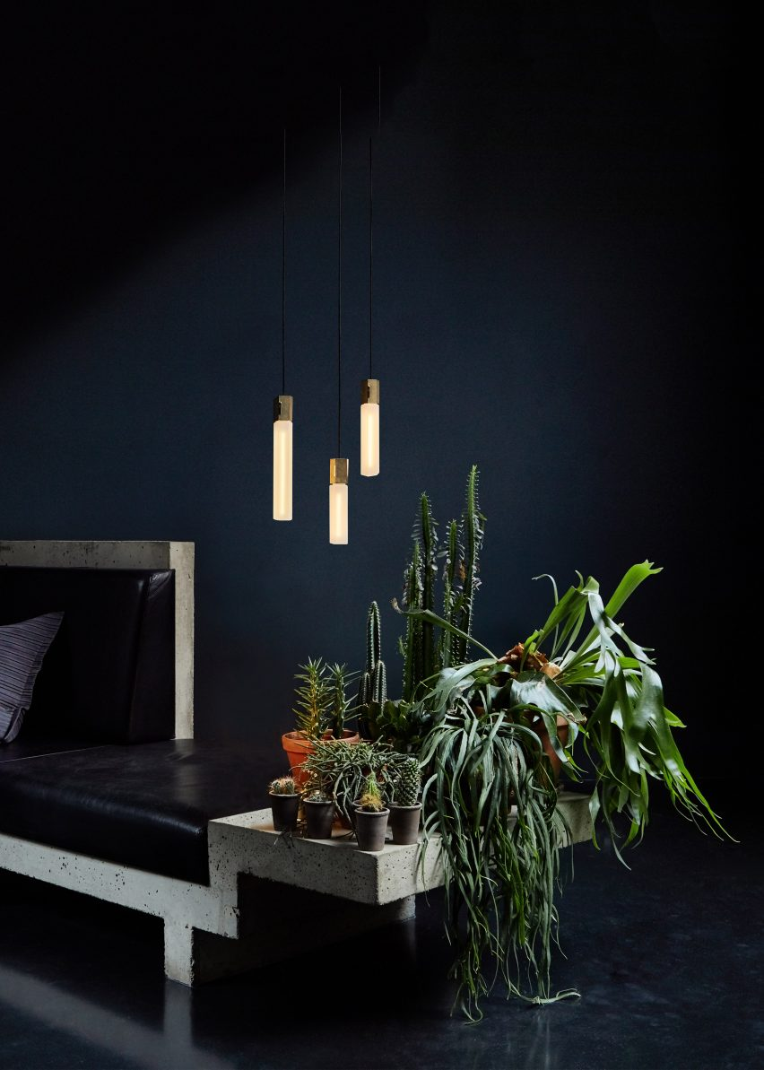 Basalt lighting by Tala