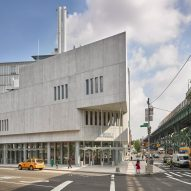Renzo Piano tops Columbia University's The Forum with staggered concrete auditorium